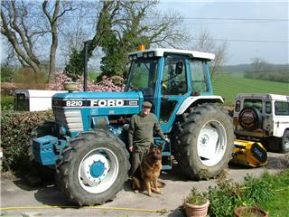 Ford 8210 Tractor Simon Smith Agricultural Contractor