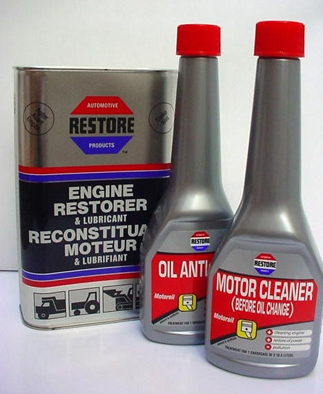 SPECIAL OFFER RESTORE Clean and Seal oil leaks in a 4 ...